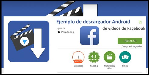 descargar videos de facebook android